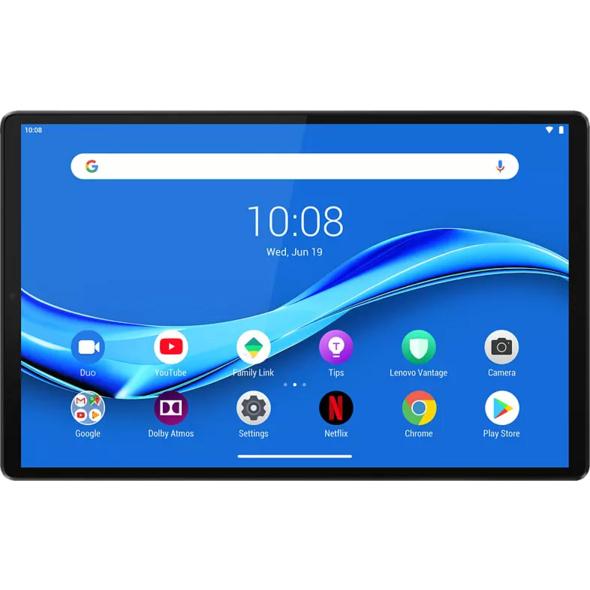 LENOVO Tab M10 Plus TB-X606F, Tablet, 64 GB, 4 GB RAM, 10.3 Zoll, Android Pie, Iron Grey
