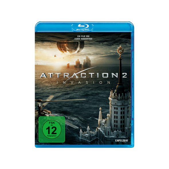 Attraction 2: Invasion - (Blu-ray)
