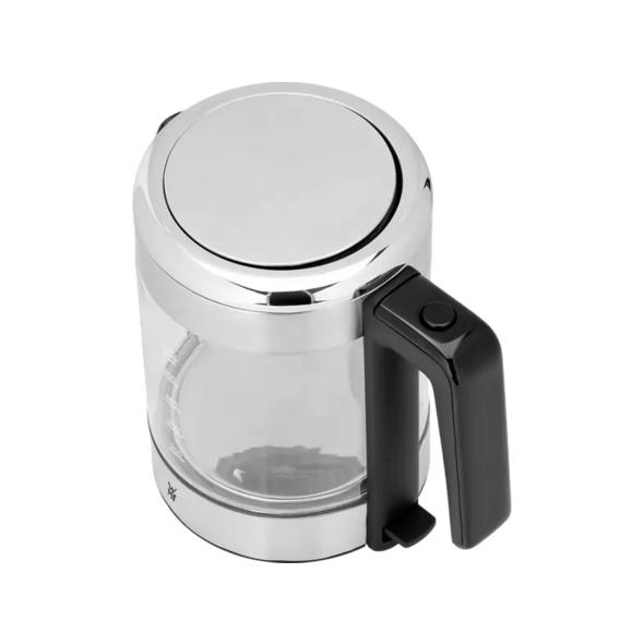 WMF 04.1319.0011 KÜCHENminis, Wasserkocher, Cromargan matt/Glas