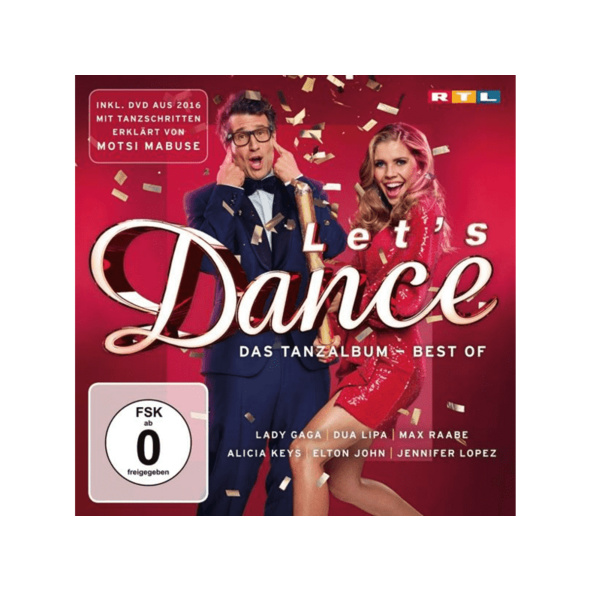 VARIOUS - LET S DANCE - DAS TANZALBUM (BEST OF) - (CD + DVD Video)