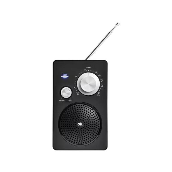 OK. ORF 320, Radio, Schwarz