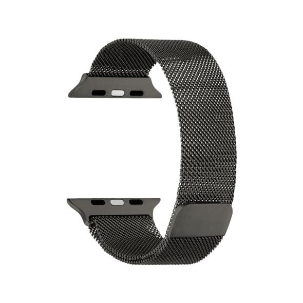 TOPP Mesh, Ersatz-/Wechselarmband, Apple, Watch Series 5/4 (40 mm), Series 3/2/1 (38 mm), Grau