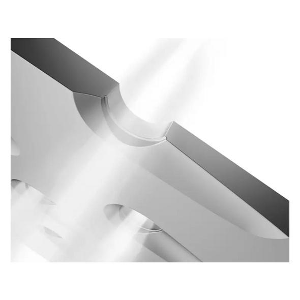 PHILIPS Azur GC4567, Dampfbügeleisen, 2600 Watt, Grau/Rot/Schwarz