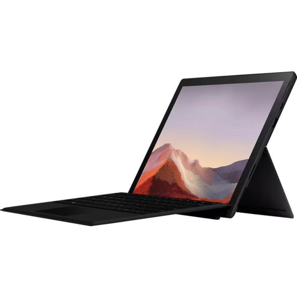 MICROSOFT Surface Pro 7, Convertible mit 12.3 Zoll Display, i5-1035G4 Prozessor, 8 GB RAM, 256 GB SSD, Intel® Iris™ Plus Grafik, Matte Black