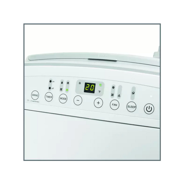 KOENIC KAC 12020 WLAN, Klimagerät, Mobiles Klimagerät, EEK: A