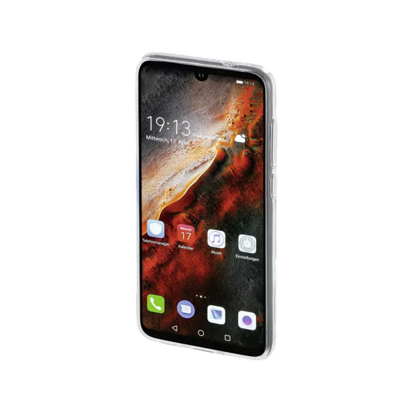 HAMA Crystal Clear Handyhülle, Huawei P30 Lite, P30 Lite (New Edition), Transparent