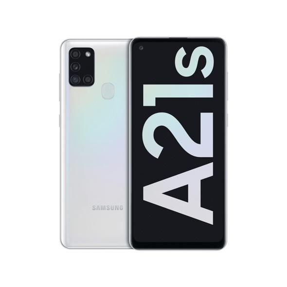 SAMSUNG Galaxy A21s, 32 GB, White