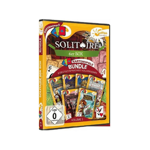 Solitaire 6er Box Vol. 1 - PC