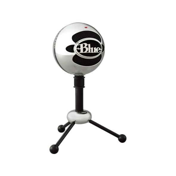 BLUE MICROPHONES 1936 Snowball Mikrofon, Alufarben