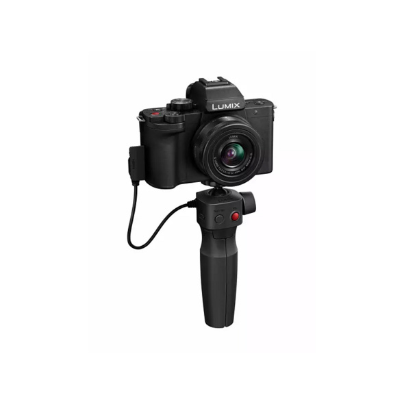 PANASONIC DC-G110VEG-K Kit Systemkamera 20.3 Megapixel mit Objektiv 12-32 mm , 7.5 cm Display   Touchscreen