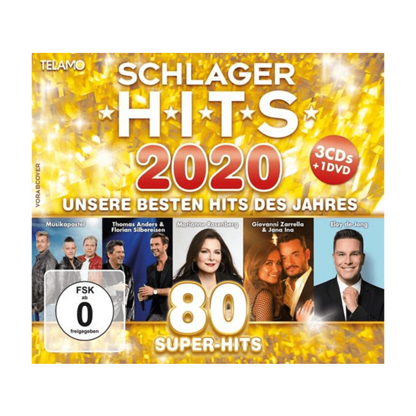 VARIOUS - Schlager Hits 2020 - (CD + DVD Video)
