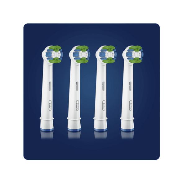 ORAL-B Precision Clean mit CleanMaximiser-Borsten, 4 Stück, Aufsteckbürsten