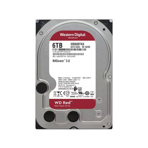 WD Red™, 6 TB HDD, 3.5 Zoll, intern