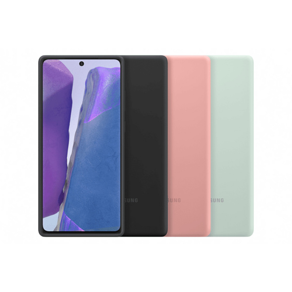 SAMSUNG EF-PN980 Handyhülle, Samsung Galaxy Note20, Braun