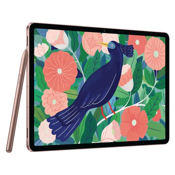 SAMSUNG Galaxy Tab S7, Tablet, 128 GB, 6 GB RAM, 11 Zoll, Android 10.0 One UI 2.5 Knox 3.6, Mystic Bronze