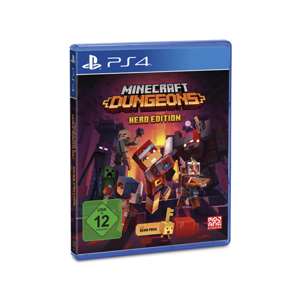 PS4 Minecraft Dungeons (Hero Edition) - PlayStation 4