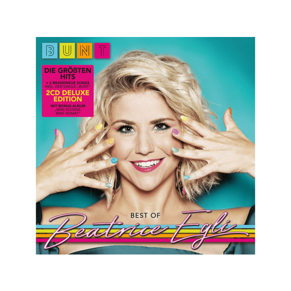 "Beatrice Egli - BUNT – Best Of (2CD Deluxe Edition: 6 neue Songs,die größten Hits+Bonus-CD Album ""Mini Schwiiz, Mini Heimat"" ) - (CD)"