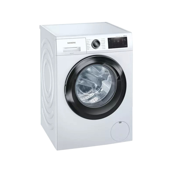 SIEMENS WM14UR5EM  Waschmaschine, 9 kg, Frontlader, 1400 U/Min., Weiß