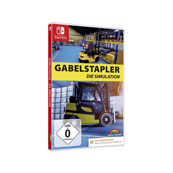Gabelstapler - Die Simulation - Nintendo Switch
