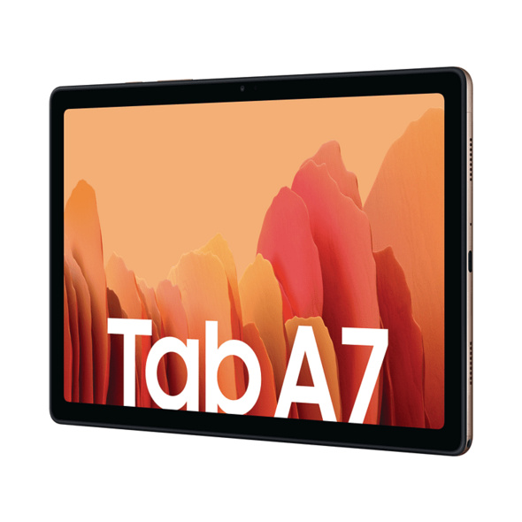 SAMSUNG TAB A7 LTE, Tablet, 32 GB, 3 GB RAM, 10.4 Zoll, Android 10.0, One UI Core 2.5, Knox 3.5, Gold