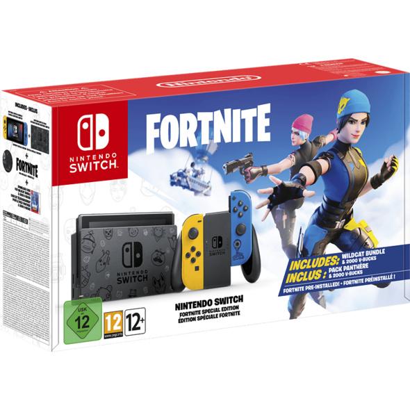NINTENDO Switch Fortnite (Special  Edition) Spielekonsole, Mehrfarbig, 32 GB