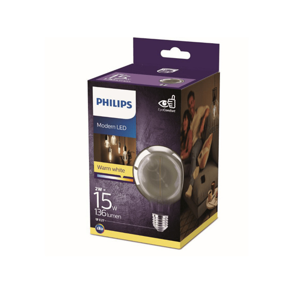 PHILIPS LEDclassic Lampe Smoky ersetzt 11W LED Lampe, Smoky
