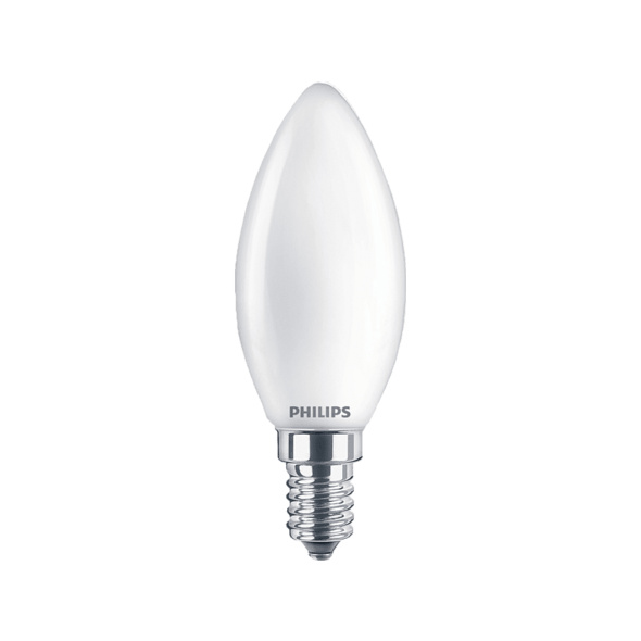PHILIPS LEDclassic Lampe E14 ersetzt 40W LED Lampe, Weiß