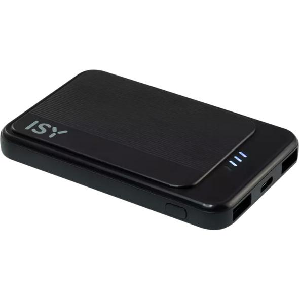 ISY IPP-5000-C-BK, Powerbank, 5.000 mAh, Schwarz