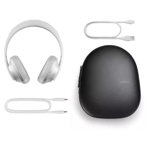 BOSE Headphones 700 kabellose Noise-Cancelling, Over-ear Kopfhörer, Headsetfunktion, Bluetooth, Silber