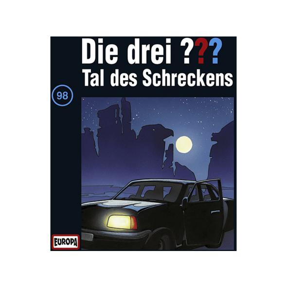 Die drei ??? 98: Tal des Schreckens - 1 CD - Kinder/Jugend