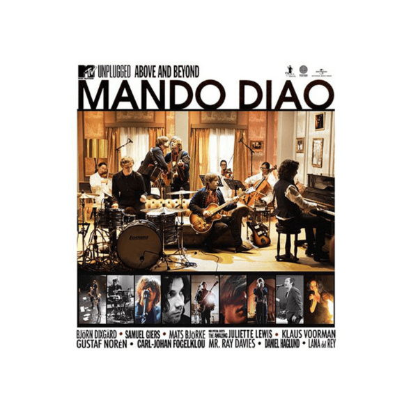 Mando Diao - MTV Unplugged-Above And Beyond (2 CD Jewel Case) - (CD)