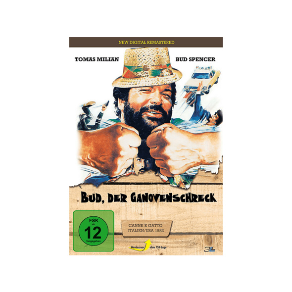 Bud, der Ganovenschreck (New Digital Remastered) - (DVD)