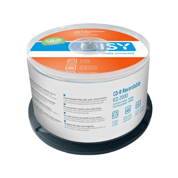 ISY ICD-2000 CD-R 50er Spindel, CDR