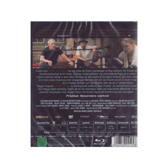 Million Dollar Baby - (Blu-ray)