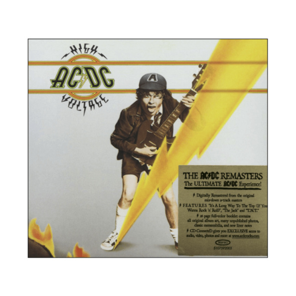 AC/DC - High Voltage (Remastered) - (CD)