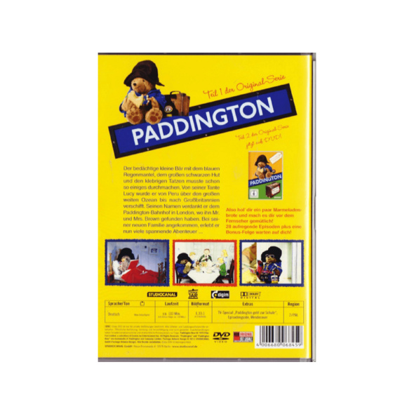 Paddington - Teil 1 - Episode 1-28 - (DVD)