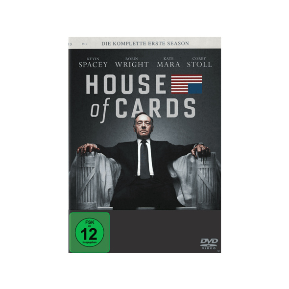 House Of Cards - Staffel 1 - (DVD)