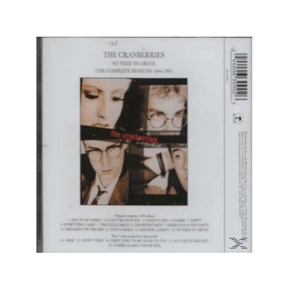 The Cranberries - No Need To Argue (The Complete Sessions 1994-1995) - (CD)
