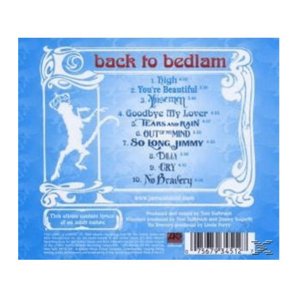 James Blunt - Back To Bedlam - (CD)
