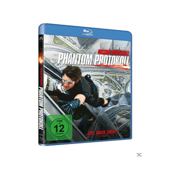 Mission: Impossible - Phantom Protokoll - (Blu-ray)