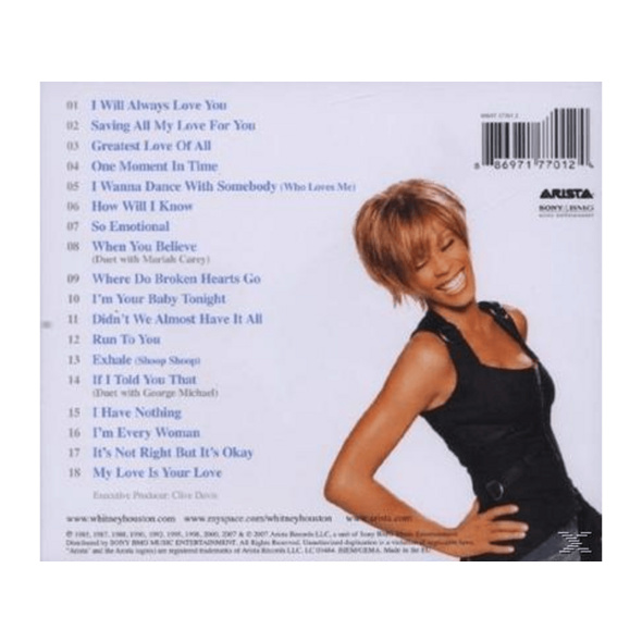 Whitney Houston - The Ultimate Collection - (CD)