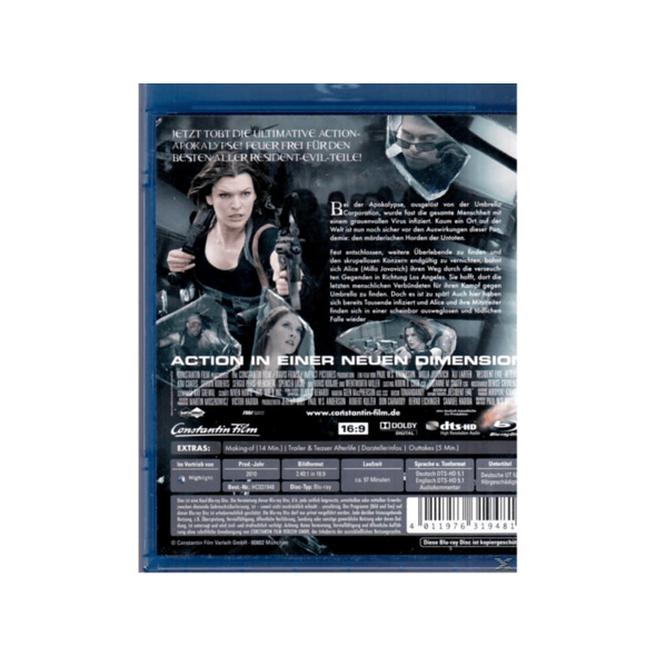 Resident Evil - Afterlife - (Blu-ray)