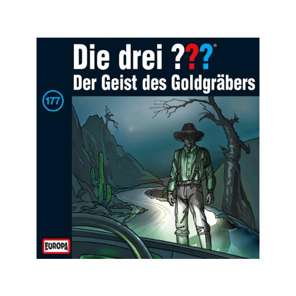 Die drei ??? 177: Der Geist des Goldgräbers - 1 CD - Kinder/Jugend