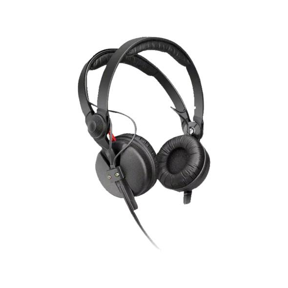 SENNHEISER HD 25-1 II Basic, Over-ear Kopfhörer, geschlossen, kabelgebunden, 1.5 m Kabel, Schwarz