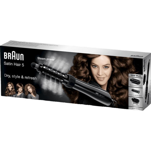BRAUN Satin Hair 5 AS 530, Lockenstab, 1000 Watt, Schwarz