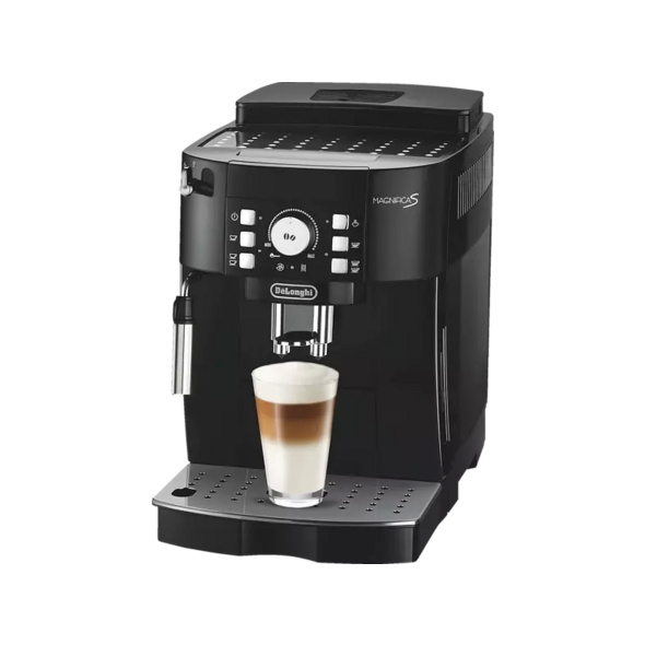 DELONGHI Ecam 21.116.B Magnifica S, Kaffeevollautomat, 1.8 l Wassertank, 15 bar, Schwarz