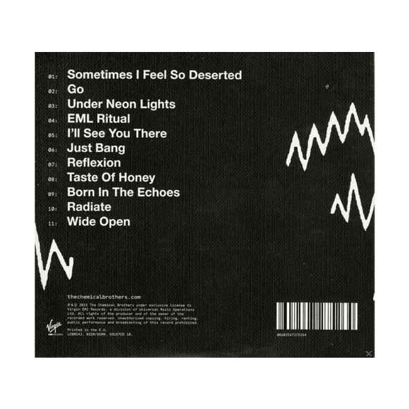 The Chemical Brothers - Born In The Echoes - (CD)