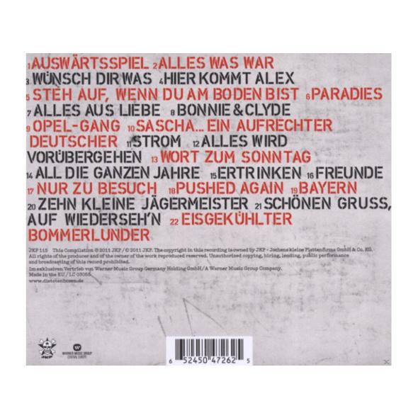 Die Toten Hosen - All die ganzen Jahre - Ihre besten Lieder (Best Of) - (CD)