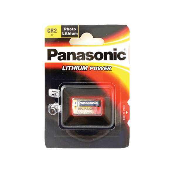 PANASONIC 2B210596 CR2 Batterie, Li-Ion, 3 Volt