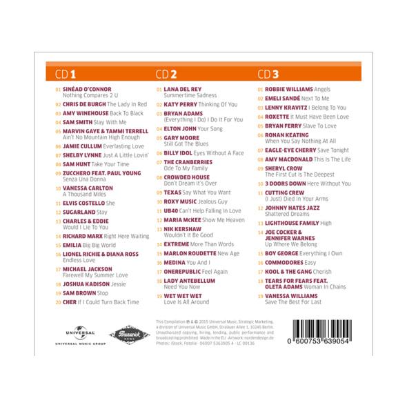 VARIOUS - Love Songs Pop (Saturn Exclusiv) - (CD)